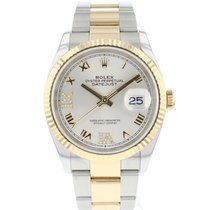 Rolex Datejust 126233 Very good Gold/Steel 36mm Automatic
