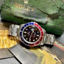 Rolex 16700 Steel 1995 GMT-Master 40mm pre-owned