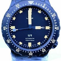 Sinn U1 Steel 44mm Black No numerals United States of America, Florida