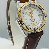 Breitling Wings Lady Gold/Steel Mother of pearl