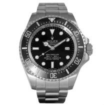 Rolex Sea-Dweller Deepsea Zeljezo 44mm Crn