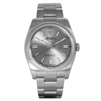 Rolex Oyster Perpetual 36 usados 36mm Gris Acero