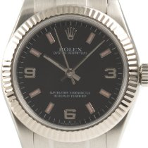 Rolex Oyster Perpetual 31 Gold/Steel 31mm Black