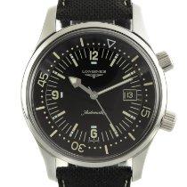 Longines Legend Diver Steel 42mm Black