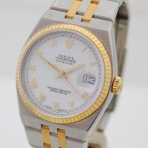 Rolex Datejust Oysterquartz nieuw 1990 Quartz Horloge met originele doos en originele papieren 17013