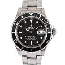Rolex Submariner Date Steel 40mm Black No numerals UAE, Dubai