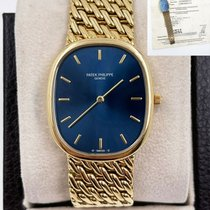 Patek Philippe Yellow gold Manual winding 31mm pre-owned Golden Ellipse