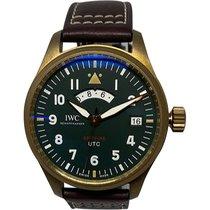 IWC Pilot Spitfire UTC Bronze 41mm Verde