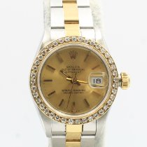Rolex Lady-Datejust Gold/Steel 26mm Gold No numerals