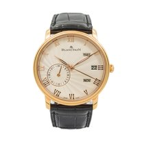 Blancpain Rose gold 40mm Automatic 6670-3642-55B pre-owned United States of America, Florida, Hallandale Beach