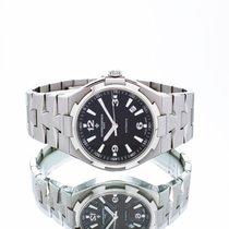 Vacheron Constantin Overseas Steel 42mm Black Arabic numerals