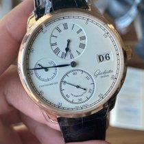 Glashütte Original Senator Chronometer Regulator Red gold 42mm Silver