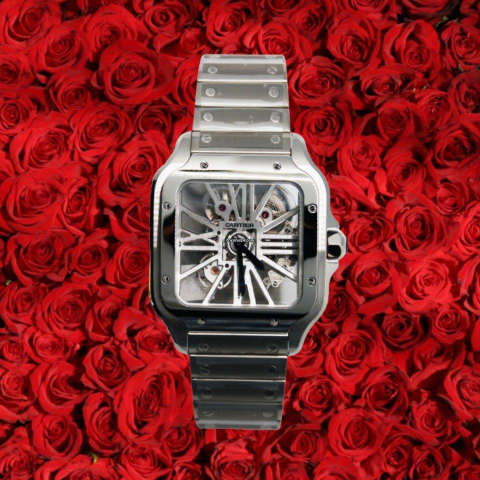 Cartier Santos (submodel) WHSA0015 2021 new