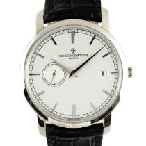 Vacheron Constantin White gold 38mm Automatic 87172/000G-9301 pre-owned