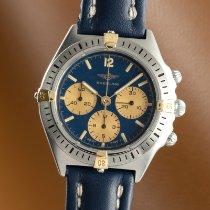 Breitling Callisto Acero y oro 35mm Azul