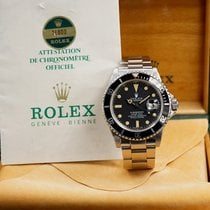 Rolex Steel Automatic Rolex submariner 16800 box and papers pre-owned