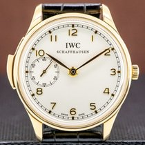 IWC Rose gold Manual winding 42mm Portuguese Minute Repeater