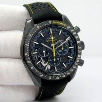 Omega Углерод Механические Черный Без цифр 44.25mm подержанные Speedmaster Professional Moonwatch