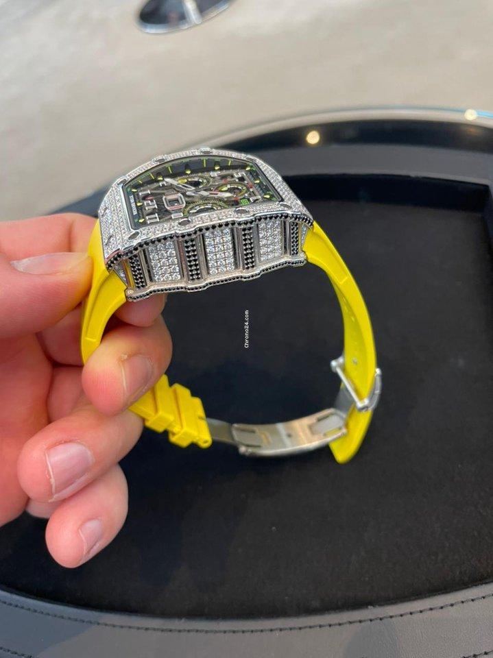 Richard Mille RM 011 RM11-03WG 2020 подержанные