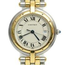 Cartier Panthère Ouro/Aço Branco