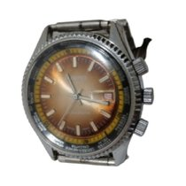 Cattin Steel 42mm Manual winding De Lux pre-owned United States of America, Texas, Gladewater
