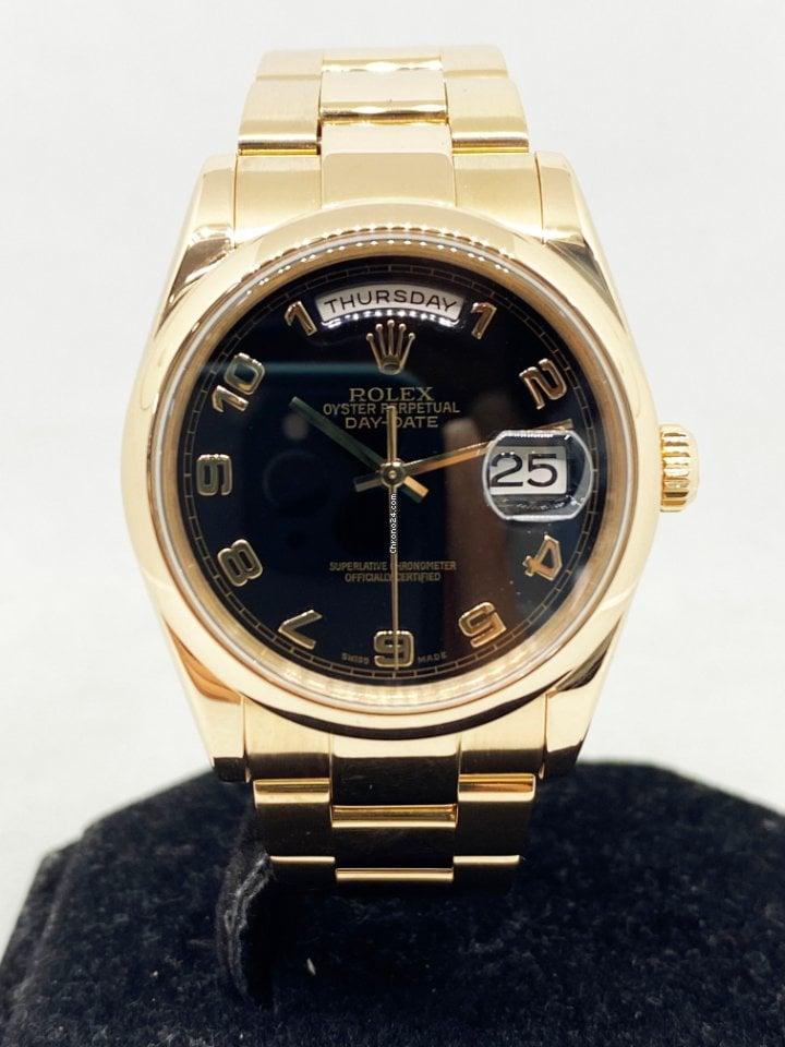 Rolex Day-Date 36 118205 2002 usados