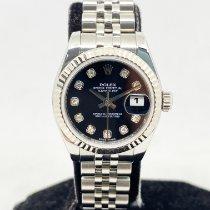 Rolex Lady-Datejust Steel 26mm Black Singapore