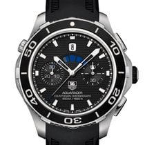 TAG Heuer Aquaracer 500M new 2021 Automatic Chronograph Watch with original box and original papers CAK211A.FT8019