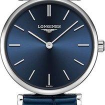 Longines Steel Quartz Blue 24mm new La Grande Classique