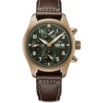 IWC Pilot Spitfire Chronograph new Automatic Chronograph Watch with original box and original papers IW3879-02