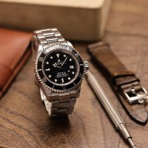 Rolex Sea-Dweller Stahl 40mm Schwarz Keine Ziffern Schweiz, Zermatt