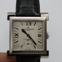 Vacheron Constantin White gold Manual winding Silver pre-owned Historiques