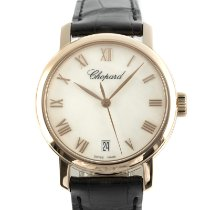 Chopard Red gold Automatic Mother of pearl 33.5mm pre-owned Classic