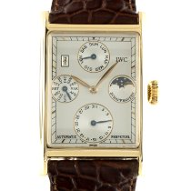 IWC Novecento Yellow gold 33mm Silver