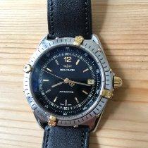 Breitling Antares Gold/Steel 40mm Black Arabic numerals