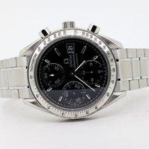 Omega Speedmaster Date nuevo 2002 Automático Cronógrafo Reloj con estuche y documentos originales 351350