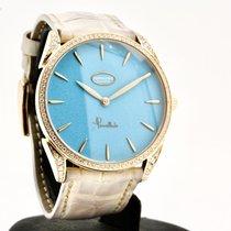 Parmigiani Fleurier Tonda Pозовое золото 39mm Синий Без цифр