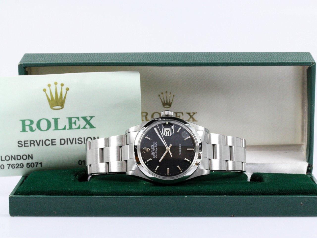 Rolex Air King Date 5700 1971 rabljen