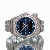Breitling Emergency Титан 43mm Синий Aрабские
