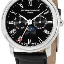 Frederique Constant Classics Business Timer Steel 40mm Black