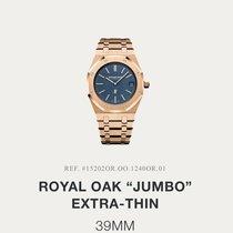 Audemars Piguet Royal Oak Jumbo 15202OR.OO.1240OR.01 NEU Nieuw Roségoud 39mm Automatisch