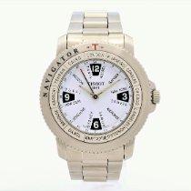 Tissot T-Navigator Steel 39mm White Arabic numerals