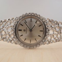 Omega Very good White gold 24mm Manual winding