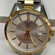 TAG Heuer Carrera Calibre 5 Gold/Steel 39mm Silver United States of America, Maryland, Gaithersburg