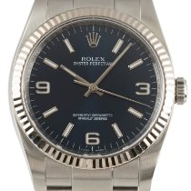 Rolex Oyster Perpetual 36 Gold/Steel 36mm Blue