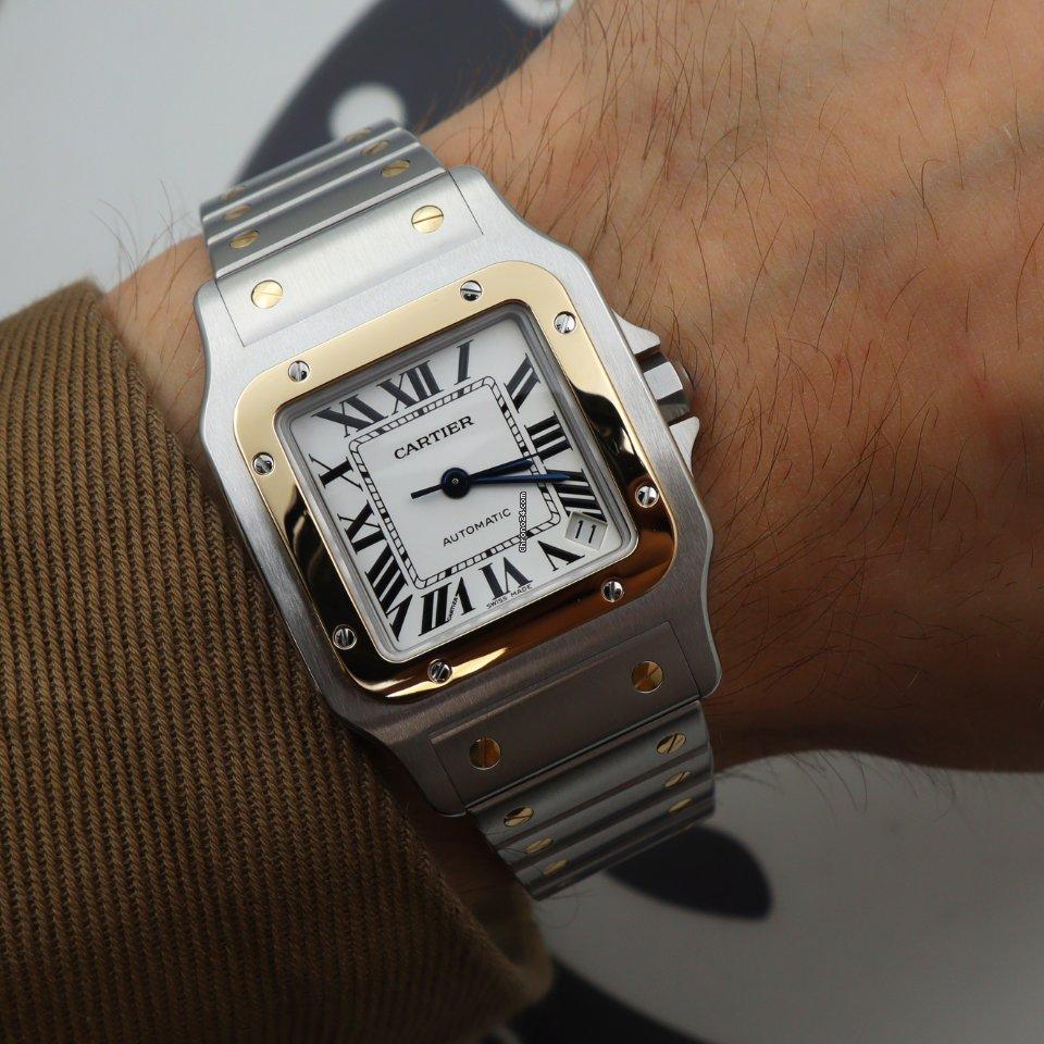 Cartier Santos Galbée новые