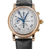 Montblanc Star Rose gold 42mm Silver Roman numerals United States of America, Maryland, Baltimore, MD