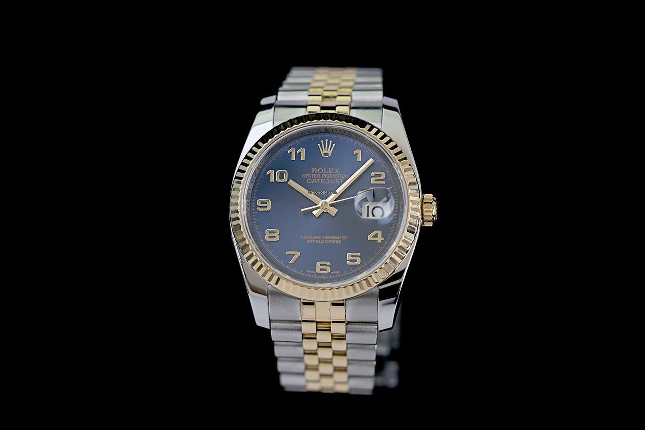 Rolex Datejust 116233 2007 подержанные