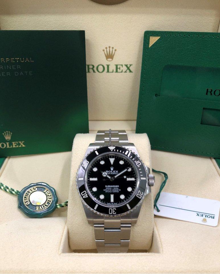 Rolex Submariner (No Date) 124060-0001 2021 new