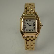 Cartier Panthère Yellow gold 22mm White Roman numerals United States of America, Texas, Houston